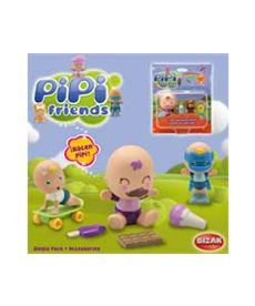 Pipi friends single pack + accesorios - 03500151