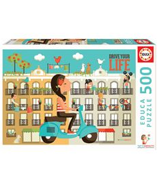 Puzzle 500 drive your life - 04017987